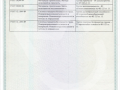 Приложение к Сертификату  на подоконники Витраж